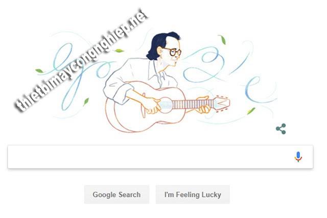 Nhạc sĩ Trịnh Công Sơn - Người đầu tiên Việt Nam được Google Doodle kỷ niệm