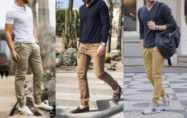 quần màu be kết hợp với áo gì