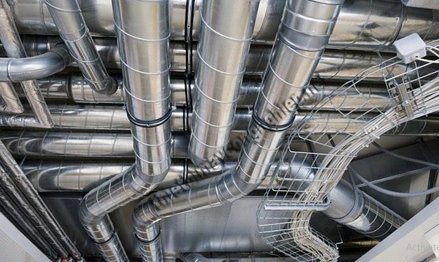 công thức tính vận tốc gió trong đường ống
