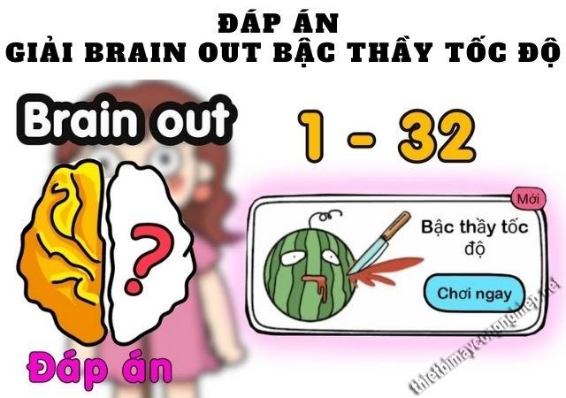 brain out bậc thầy tốc độ