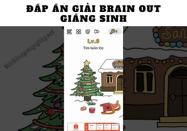 brain out giáng sinh