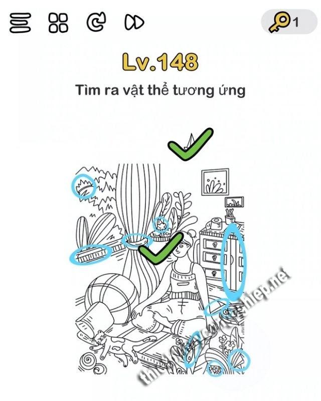 giải brain out level 148
