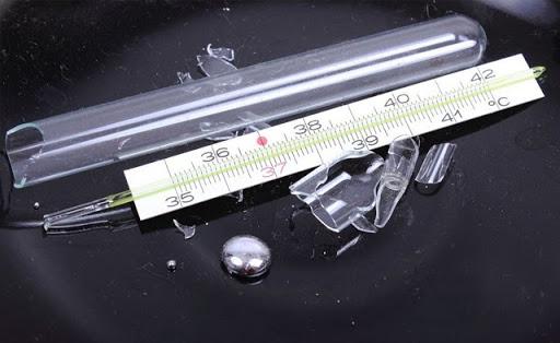 trọng lượng riêng của thủy ngân trong nhiệt kế