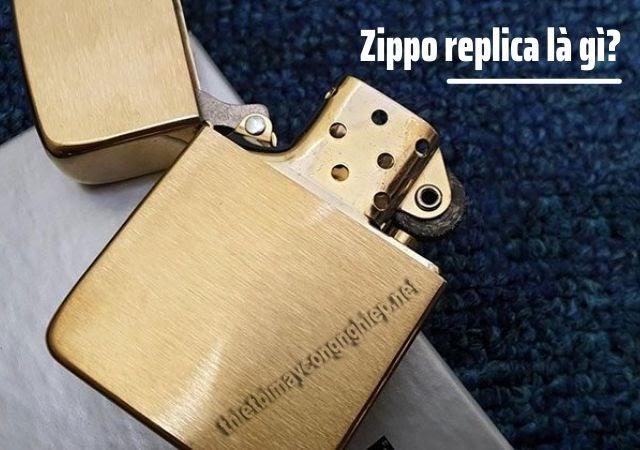 zippo replica là gì
